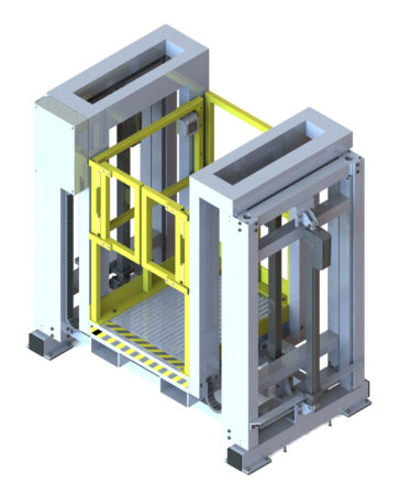 Image of Spika MGSE - Electrically actuated ground level access for personnel.